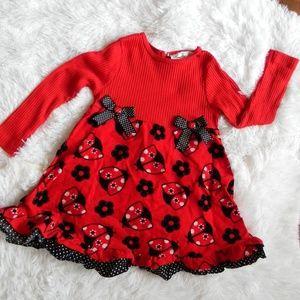 Other - Toddler Girl's Long Sleeve Dress